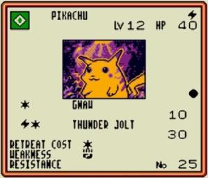 PTCG Pikachu