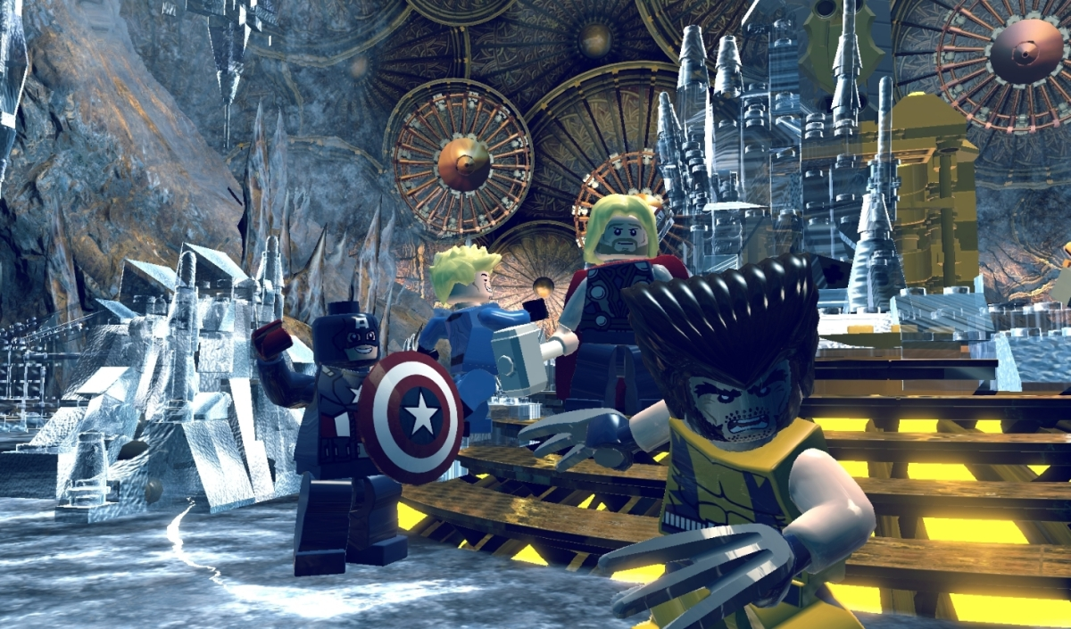 Review: Lego Marvel Super Heroes
