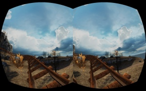 oculus coaster