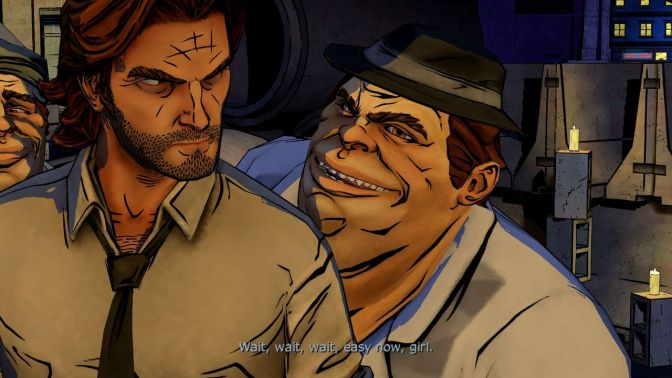 Review: The Wolf Among Us – A Crooked Mile