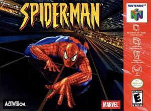 Spider Man box art
