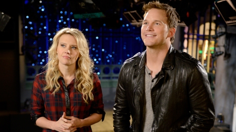 chris pratt and kate mckinnon