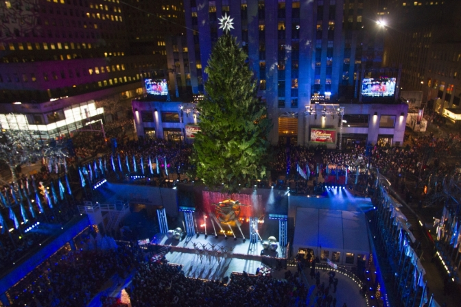 Rockefeller Center Kicks Off The Christmas Season
