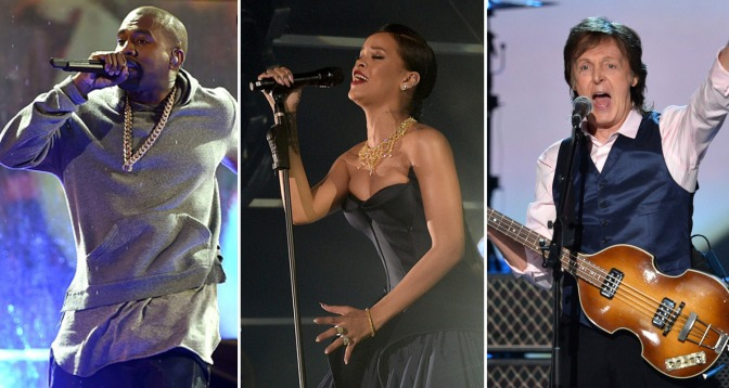 Rihanna, Kanye West & Paul McCartney: The Unlikely Trio?