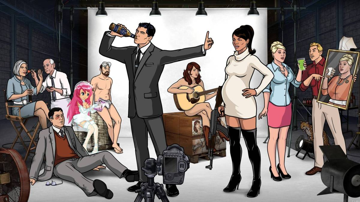 Review: Archer Season 5 - Archer Vice