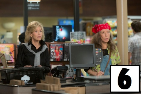 "Jane Fonda and Lily Tomlin in the Netflix Original Series ""Grace and Frankie"". Photo by Melissa Moseley for Netflix.Ê"
