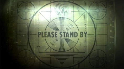 Notice how the countdown clock is pulled directly from the loading screen in Fallout 3?