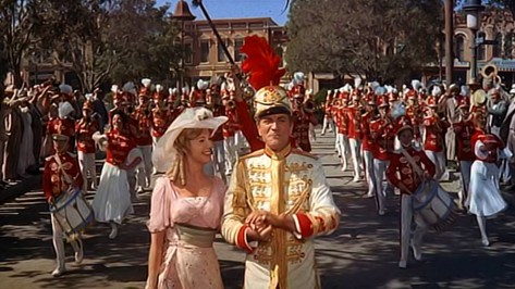 The film adaptation of The Music Man