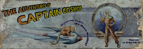 Ad for Captain Cosmos