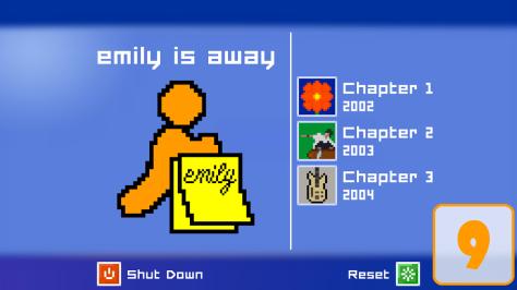 emily is away score